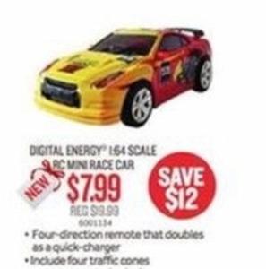 Digital Energy R/C Mini Race Car