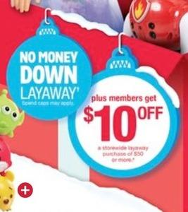 Kmart Layaway Purchase