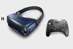 Samsung Gear VR + SteelSeries XL Controller