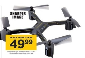 Sharper Image DX-3 Video Drone