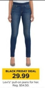 Women's Levi's Pull On Jeans