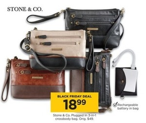 Stone & Co Plugged in 3-in-1 Crossbody Bag