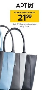 Apt 9 Brooklyn Bow Tote