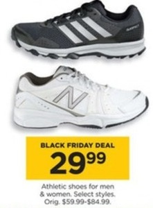Select Men's and Women's Athletic Shoes