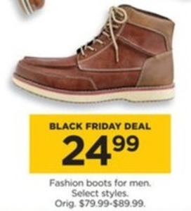 Select Fashion Boots for Men