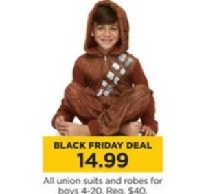 All Boys' Union Suits & Robes