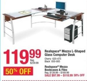 Realspace Mezza Bookcases & Files