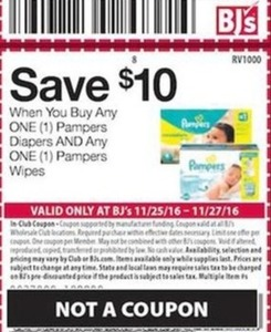Pampers Diapers And Pampers Wipes w/ Coupon