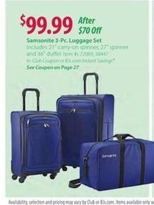 Samsonite 3-PC Luggage Set