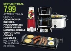 Cook Small Appliances (After Rebate)