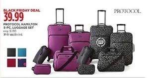 Protocol Hamilton 5-pc Luggage Set