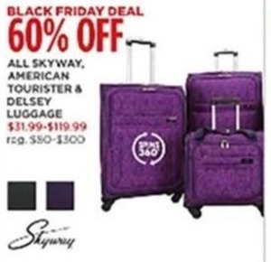 Skyway, American and Kelsey Luggage