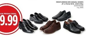 St. John's Bay Men's Select Style Dress or Casual Shoes