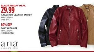 A.N.A Faux-Leather Jacket