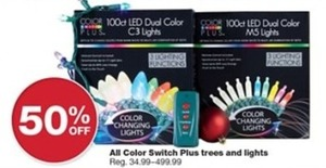 All Color Switch Plus Trees & Lights