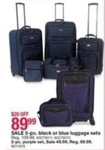5-Pc. Luggage Sets