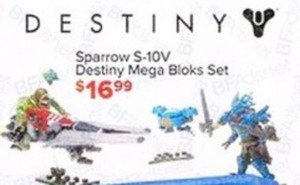 Sparrow S-10V Destiny Mega Bloks Set