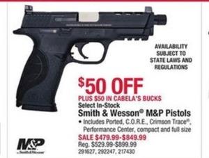 Smith & Wesson M&P Pistols