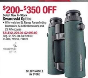 Select New Swarovski Optics
