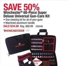Winchester 68-Piece Super Deluxe Universal Gun-Care Kit
