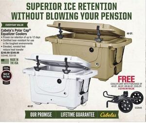 Cabela's Polar Cap Equalizer Coolers