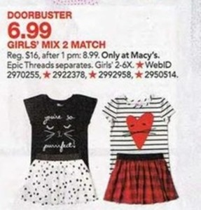 Girls Mix 2 Match