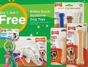 Entire Stock of Nylabone Dog Toys
