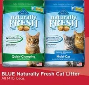 BLUE Naturally Fresh Cat Litter