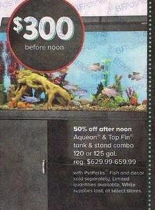 Aqueon & Top Fin Tank & Stand Combo