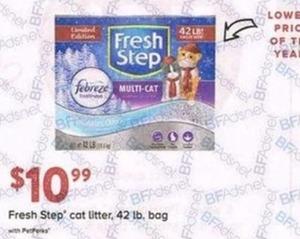 Fresh Step Cat Litter, 42lb. Bag