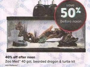 Zoo Med 40 Gal. Bearded Dragon & Turtle Kit