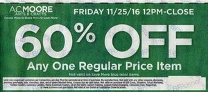 Any One Regular Price Item Coupon