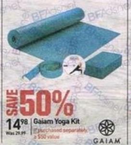 Gaiam Yoga Kits