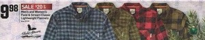 Men's and Women's Field & Stream Classic Lightweight Flannels