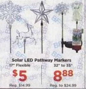 Solar LED Pathway Markers