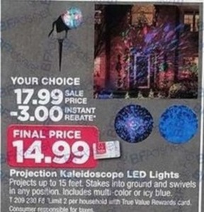 Projection Kaleidoscope LED Lights