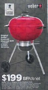 Weber 22 in. Original Kettle Premium Grill