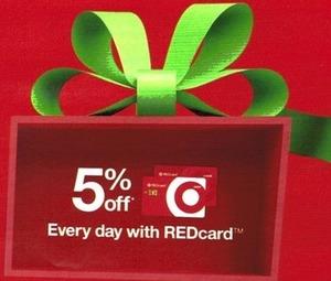 Savings w/ Target RedCard
