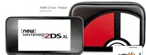 Nintendo 2DS Pokeball Case