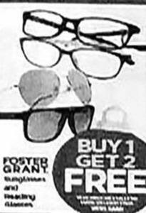 Foster Grant Reading / Sun Glasses
