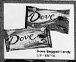 Dove Bagged Candy
