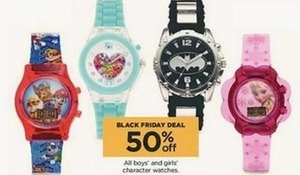 All Boys' and Girls' Character Watches