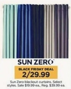 Sun Zero blackout curtains