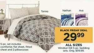 Windsor Hill 5 pc. Bedding Sets All Sizes