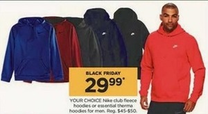 Nike Club Fleece Hoodies or Essential Therma Hoodies for Men