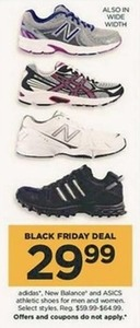 Adidas, New Balance and ASICS Athletic Shoes for Men and Women