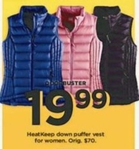 Women's HeatKeep Down Puffer Vest