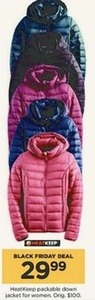 Women's HeatKeep Packable Down Jacket