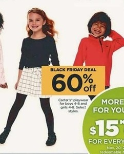 Carter's Select Playwear For Boys & Girls (Sizes 4-8)