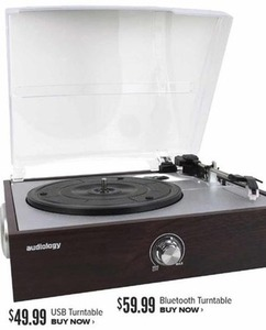 Audiology USB Turntable